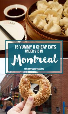 Cheap eats in Montreal under $15 per person - from Indian to Vietnamese, to, of course, poutine, there's something for every palate. More here: http://toeuropeandbeyond.com/cheap-eats-in-montreal/