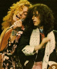 Page and Plant- led zeppelin