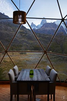 Patagonia Eco Domes, El Chaltén, provincia de Santa Cruz, Argentina | Abr 2016                                                                                                                                                                                 Más