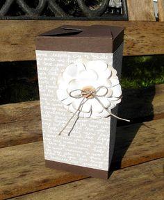 Mein Haus, mein Garten, mein Hobby.: Wellness-Box mit dem gift bag punchboard