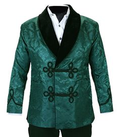 Image result for peacock green brocade jacket
