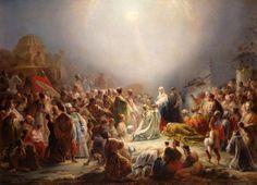 """Domingos Sequeira: """"The Adoration of the Magi"""", 1828, Museu Nacional de Arte Antiga."""