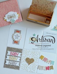 I love my new products ;) Sweet lil one et DSP Mignonnet - Hélène LEGRAND - Stamp 2 LiNotte