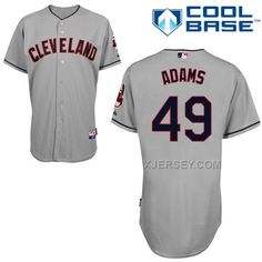 http://www.xjersey.com/indians-49-adams-grey-cool-base-jerseys.html INDIANS 49 ADAMS GREY COOL BASE JERSEYS Only $43.00 , Free Shipping!