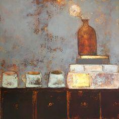 Perfectly Balanced - Dandelion by Irish Contemporary Artist Anji ALLEN