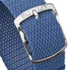 EULIT Kristall | Genuine German Perlon Watch Strap | WatchGecko