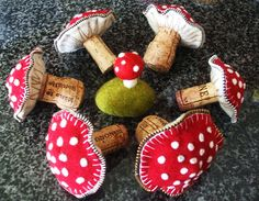 Zippers and corks!! by woolly  fabulous, via Flickr