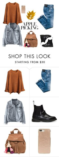 """untitled 600"" by deboraaguirregoncalves on Polyvore featuring moda, Dr. Martens, The Wolf Gang e Kate Spade"