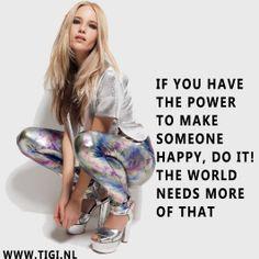 TIGI NL Instagram quote