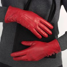 Are you interested in our gloves leather? With our gloves leather ladies you need look no further. Black Leather Gloves, Lambskin Leather, Red Leather, Red Gloves, Ladies Gloves, Best Hair Dye, Red Right Hand, Gloves Fashion, Black Sparkle