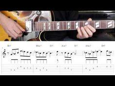 Jazz Guitar Lesson #28 - Progression #3 (Blues for Ali) - Improvisation #4