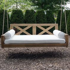 Breezy Acres Malvern Porch Swing Bed Outdoors – ThePorchSwingCompany.com Rustic Furniture, Luxury Furniture, Outdoor Furniture, Antique Furniture, Modern Furniture, Furniture Ideas, Furniture Layout, Front Porch Furniture, Garden Furniture