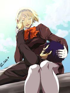 Aigis & Minato, Persona 3
