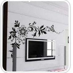 Flower Mural Wall Sticker Decal