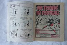 Football Picture Story Monthly Number 21 Back Cover Maurice Johnston • £1.99 - PicClick UK