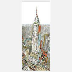 Manhattan Large Art Block now featured on Fab.