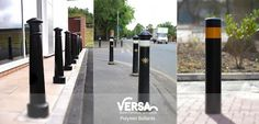 #Polymer #Bollards  by Versa will not corrode and are virtually maintenance free with similar aesthetics to cast iron bollards!  Find the range here: http://versauk.co.uk/Bollards/Polymer.html
