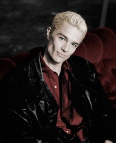 "James Marsters as Spike in ""Buffy the Vampire Slayer"" and ""Angel"""