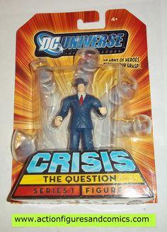 "DC Universe Infinite Heroes Crisis 3.75/"" THE QUESTION Figure #14 Series 1 NIP"