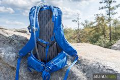 The padded and perforated back panel and shoulder straps of the Cotopaxi Inca 26L add comfort and ventilation