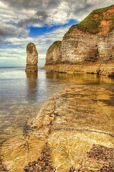 ˚Coastline at Flamborough Head - East Yorkshire, England HDR