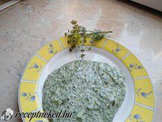 Kapor mártás Palak Paneer, Grains, Rice, Ethnic Recipes, Food, Essen, Meals, Seeds, Yemek