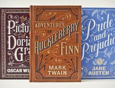 Barnes and Noble Classics Series Art Direction: Jo Obarowski Cover Art: Jessica Hische Book Design: Patrice Kaplan Great typography and illustrations both on the cover and throughout. These are leather-bound and foil-stamped. Jessica Hische, Buch Design, Leather Bound Books, Vintage Book Covers, Vintage Typography, Typography Fonts, Branding, Classic Books, Book Cover Design