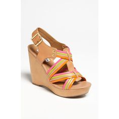 'Tampaa' Sandal ($45) found on Polyvore