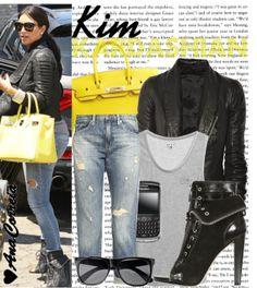 """""""1286. Kim Kardashian"""" by anacorreia on Polyvore"""