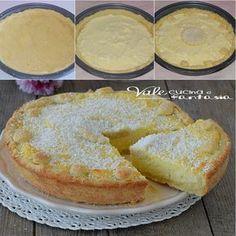 Crostata al cocco ricetta Sweet Recipes, Cake Recipes, Dessert Recipes, Gluten Free Desserts, Just Desserts, Cake Cookies, Cupcake Cakes, My Favorite Food, Favorite Recipes