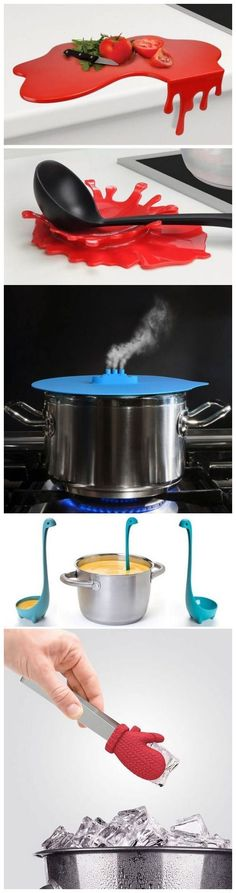 Cool & Clever Kitchen Gadgets ❤︎                                                                                                                                                      More