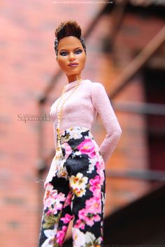 Lovely Halle Berry Barbie