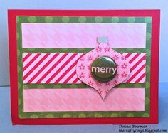 The Crafty Corgi I used coordinating papers from @Echo Park Paper and @Studio_Calico Christmas badges to make this card.