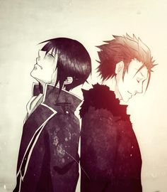 K Project ~~ The pain of being left behind... :: Suoh Mikoto X Munakata Reisi