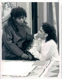 Charnele Brown (Kimbery Reese) & Jasmine Guy (Whitley Gilbert)