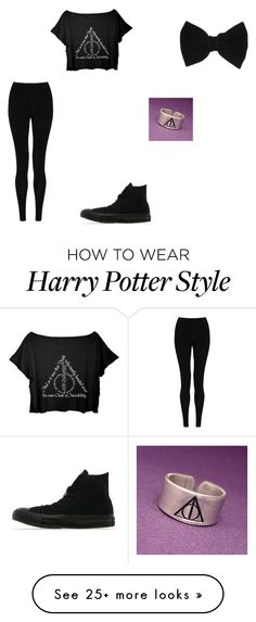 """Untitled #217"" by murkly on Polyvore featuring M&S Collection, Converse and claire's"