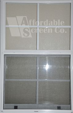 Custom Fiberglass Window Screens