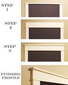 Craftsman door frame