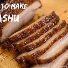 How to Make Chashu (Recipe) チャーシュー・煮豚の作り方(レシピ) - Easy Ethnic Recipes Pork Belly Recipes, Ramen Recipes, Asian Recipes, Cooking Recipes, Hawaiian Recipes, Easy Japanese Recipes, Japanese Dishes, Japanese Ramen, Japanese Food