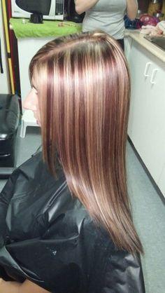 Chestnut Brown Hair Color Caramel Highlights Hair