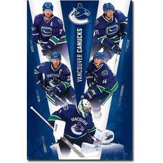 Vancouver Canucks V for Victory - Costacos 2011 Hockey Teams, Hockey Players, Hockey Stuff, Vancouver Canucks, Henrik Sedin, Ryan Kesler, Kings Hockey, Famous Sports, Los Angeles Kings