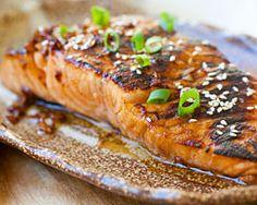 Sweet & Spicy Sriracha-Glazed Salmon - Easy Recipes at RasaMalaysia.com