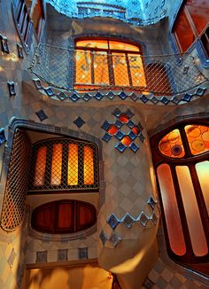 Casa Batillo, Barcelona, Spain. 1904-6. Antoni Gaudi.                                                                                                                                                                                 More