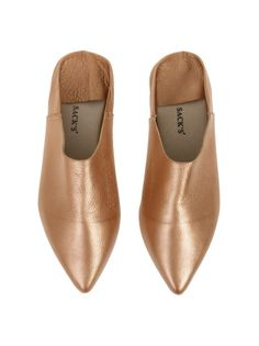 BABOUCHE LEATHER - SHOES - ACCESSORIES