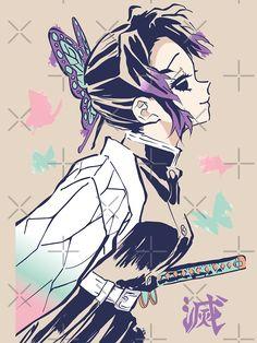 'Insect Pillar' T-Shirt by Manga Art, Manga Anime, Anime Art, Demon Slayer, Slayer Anime, Character Art, Character Design, Hxh Characters, Cute Anime Wallpaper