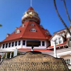 Hotel del Coronado near San Diego, a National Historic Landmark. Photo by vgoodlooking