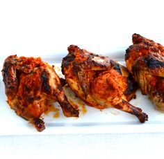 Ayam Bakar Bumbu Rujak Broiled Cornish Hen With Spicy Tomato-Ginger Sauce - Rema Easy Dinner Recipes