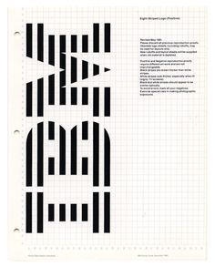 IBM Logo Architecture _ Paul Rand