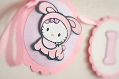 Baby Shower Hello Kitty Banner on Etsy