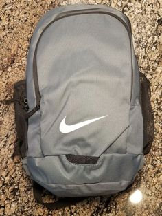 1895493c3140 NIKE ACADEMY TEAM BACKPACK FLINT GREY BA5340-064 School Bag Medium Book Bag   NIKE